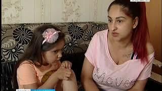Пятилетняя девочка угодила в больницу после падения на мокром полу в гипермаркете