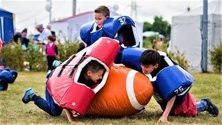 Сургутяне освоили 30 видов спорта на фестивале спорта