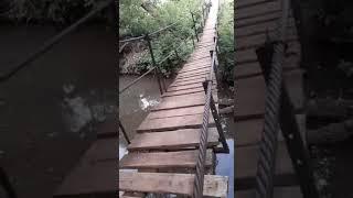 Мост в селе Степановка Переволоцкого района