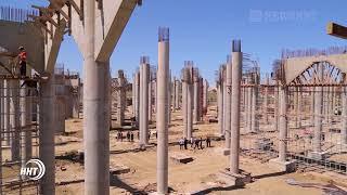Строительство Духовного центра  имени Пророка Исы набирает обороты