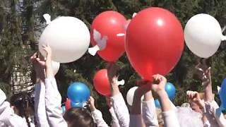 Шествием по центральным улицам и митингом открылось празднование 9 мая в Биробиджане(РИА Биробиджан)