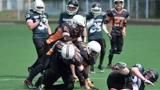Вологодские «Викинги» разгромили архангельских «Лесорубов» в американский футбол