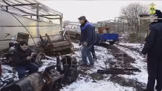 Житель Кубани угнал трактор. Закончилось все плохо!