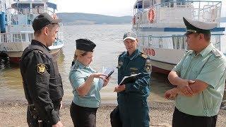 UTV. Судебные приставы и сотрудники МЧС оштрафовали отдыхающих на Нугушском водохранилище