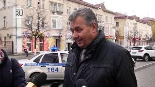 Курганские водители подвергаются штрафам за парковку на улице Ленина