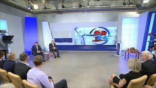 Губернатор Андрей Бочаров посетил «Волгоград-ТРВ» и обозначил стратегические задачи региона
