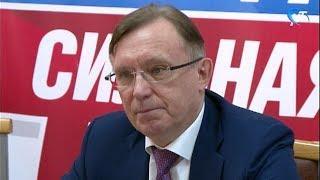 Сопредседатель предвыборного штаба Владимира Путина Сергей Когогин посетил Великий Новгород