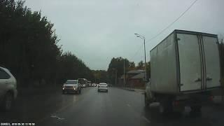 1 meter before the accident   1 метр до ДТП