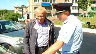 Инспекторы ГИБДД «шокируют» водителей и пешеходов