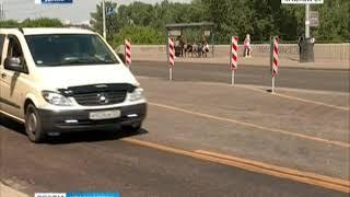 Красноярца оштрафовали на 96 тысяч за езду по перекрытому мосту