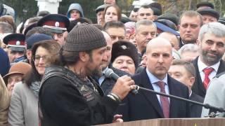 Хирург на открытии памятника Ивану Грозному в Орле