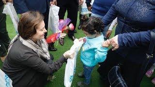 Губернатор Югры встретилась с сирийскими детьми