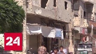Беженцы возвращаются в Сирию и начинают восстанавливать свои дома - Россия 24