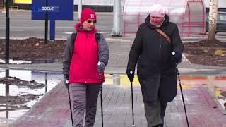 Череповчанка выиграла международного марафона по скандинавской ходьбе