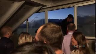 Люди не могли покинуть здание барнаульского ТРЦ во время пожарной тревоги