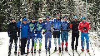 Сборная Югры по лыжным гонкам приступила к тренировкам на родном снегу