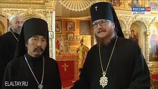 В Балыктуюле прошло торжественное богослужение