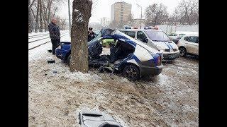 Страшные кадры с места ДТП на юге Москвы