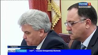 Глава Мордовии Владимир Волков провел совещание по подготовке к Чемпионату Мира