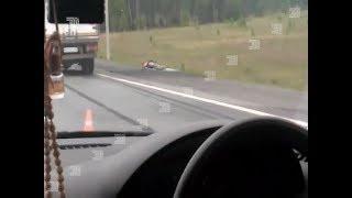 Смертельная авария. На выезде из Челябинска сбили дорожника