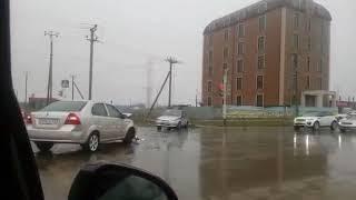Иномарка столкнулась с полицейским автомобилем Ставрополь
