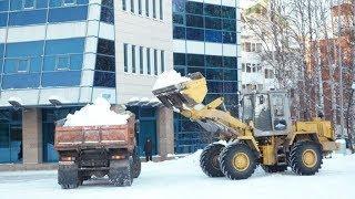 Югра сообща боролась с последствиями снежных бурь