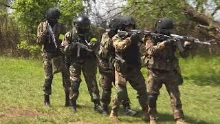 Боевые навыки отточили сотрудники СОБР Росгвардии ЕАО на полигоне(РИА Биробиджан)