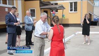 В Белебеевском районе переселенцы из аварийного жилья заселились в новые квартиры
