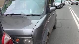 Невнимательная автоледи спровоцировала ДТП на Суханова