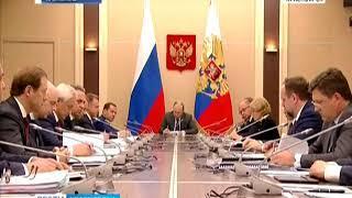 Владимир Путин поднял на заседании правительства вопрос экологии в Красноярске