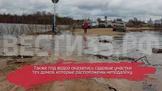 Устье-Кубинский район под угрозой весеннего половодья