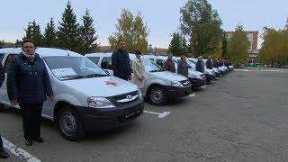 Пензенские больницы получили 13 автомобилей для оказания паллиативной помощи