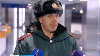 "МЧС провели учения в ""Арене Север"""