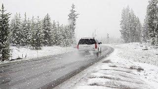 В Югре ожидается мокрый снег, переходящий в ледяной дождь