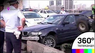 Крупное ДТП произошло на Новоарбатском мосту