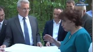 Губернатор ознакомился с проектом по расширению улицы Попова