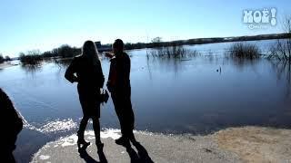Разлив Дона в Воронеже