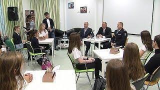 Для школьников Ханты-Мансийска устроили диалог с властью