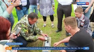 В пруды Алтайского края выпустили миллион мальков