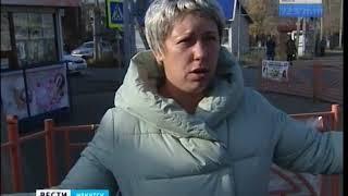 Женщину с ребёнком сбили на «зебре» в Иркутске