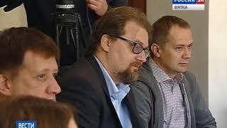 Встреча губернатора Игоря Васильева с журналистами(ГТРК Вятка)