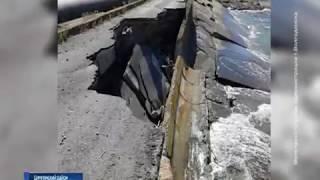 Размытый участок волнорезной косы Цимлянского водохранилища частично восстановлен