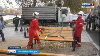 В Астрахани набирает обороты сезон осеннего благоустройства