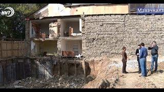 Разрушилась стена частного дома