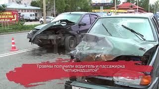 Рено Логан и ВАЗ не поделили дорогу: есть пострадавшие
