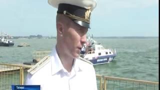 В Таганроге День ВМФ отметили морским парадом