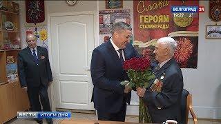 Ветеран Великой Отечественной войны Михаил Терещенко отметил 96-летие
