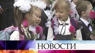 В России сегодня отмечают День знаний.
