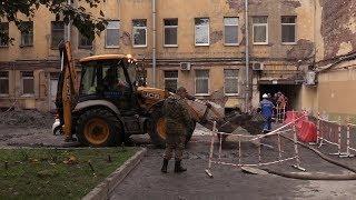 Трубы «Теплосетей Петербурга» отработали свой срок: разбор ЧП на Измайловском проспекте. ФАН-ТВ