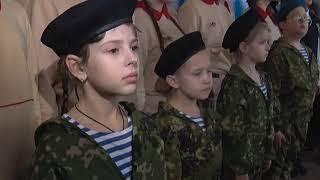 В Симферопольской школе открыли музей В. Маргелова.